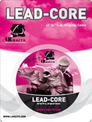 Lk Baits Šňůrka s Olověným Jádrem Lead-Core 45lb 10m