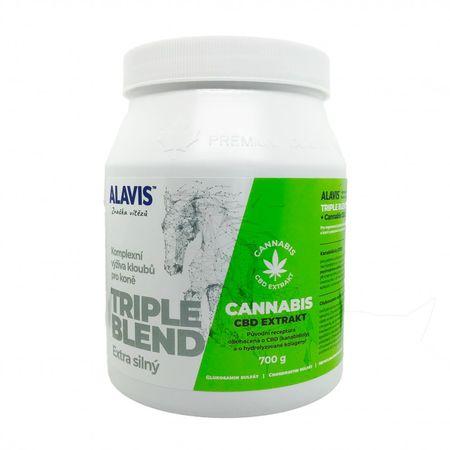 Alavis Triple Blend Extra erős + Cannabis CBD Kivonat 700 g
