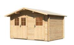 KARIBU dřevěný domek KARIBU RADUR 1 (44978) natur