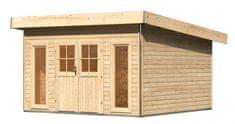 KARIBU dřevěný domek KARIBU TECKLENBURG 2 (83409) natur