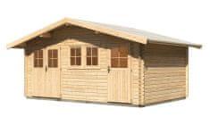 KARIBU dřevěný domek KARIBU LAGOR 2 (44984) natur