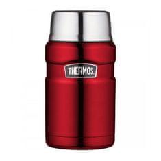 Thermos Style Termoska na jedlo sa šálkou - červená 710 ml