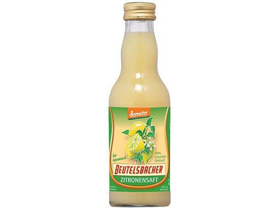 Beutelsbacher Bio Citrónová šťava 100% Beutelsbacher 0,2l