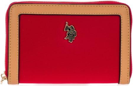 U.S. Polo Assn. ženska denarnica New Houston, rdeča