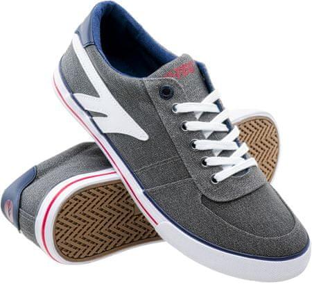 Hi-Tec moški športni čevlji Bissac, Grey/Navy/Red, sivi, 41