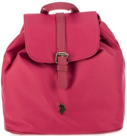 U.S. Polo Assn. dámský růžový batoh New Houston