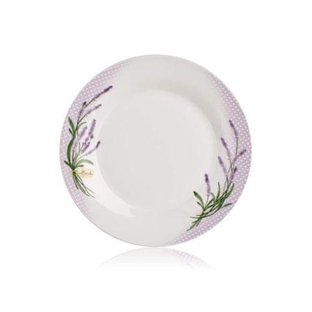 Banquet krožnik LAVENDER, plitvi, 24 cm
