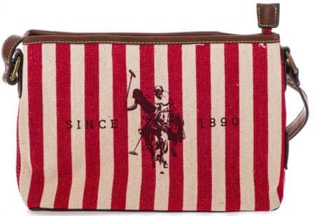 U.S. Polo Assn. ženska torbica Maryland, crvena
