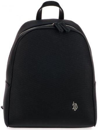 U.S. Polo Assn. dámský černý batoh Portsmouth