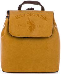 U.S. Polo Assn. dámský žlutý batoh Cowtown