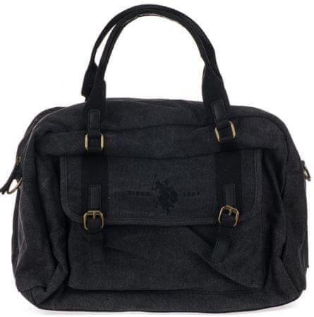 U.S. POLO ASSN. pánska čierna taška Aspen