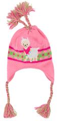 Heless czapka z dzianiny z lamą 35-45 cm
