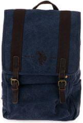 U.S. POLO ASSN. Aspen kék férfi hátizsák