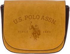 U.S. Polo Assn. žlutá crossbody kabelka Cowtown