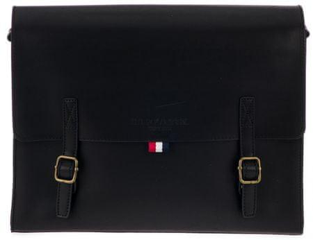 U.S. POLO ASSN. pánska čierna crossbody taška Boynton