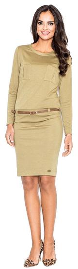 Figl dámské šaty S béžová