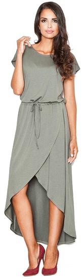Figl dámské šaty M šedá