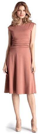 Figl ženska obleka, M, roza