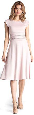 Figl dámské šaty XL světle růžová