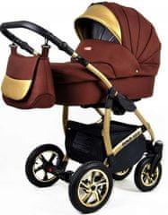 Sun Baby wózek 3w1 Raf-pol Gold LUX