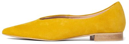L37 baleriny damskie Bluebell 40 żółte