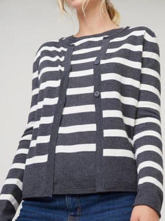 Rodier sweter damski 40 szary
