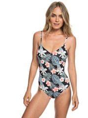 ROXY Egyrészes fürdőruhaPt Beach Classics Basic 1 pce Anthracite Tropicalababa Swim ERJX103165-KVJ8