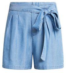 Vero Moda Női rövidnadrág Mia HR Laza Summer Long Short a Light Blue Denim