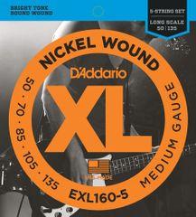Daddario EXL160-5 Struny na päťstrunovú basgitaru