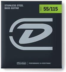 Dunlop DBS55115 Struny pro baskytaru