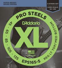 Daddario EPS165-5 Struny pro pětistrunnou baskytaru