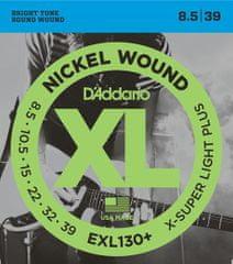 Daddario EXL130+ Struny na elektrickú gitaru
