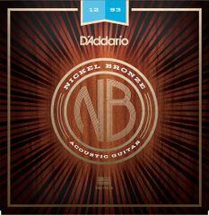 Daddario NB1253 Kovové struny na akustickú gitaru