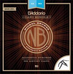 Daddario NB1253-CP10 Kovové struny na akustickú gitaru