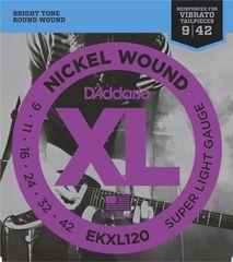 Daddario EKXL120 Struny na elektrickú gitaru