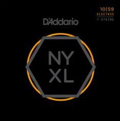 Daddario NYXL1059 Struny pro sedmistrunnou elektrickou kytaru
