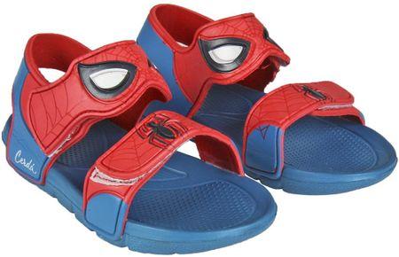 Disney chlapecké sandály Spiderman 22.5 červená/modrá
