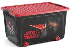 Kis W Box STAR WARS 50 L na kolečkách - rozměr 59x39x32 cm