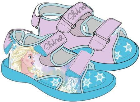 Disney sandały dziewczęce Frozen 23 niebieski