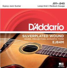Daddario EJ84M Kovové struny na akustickú gitaru