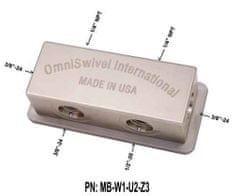 """OmniSwivel Manifold středotlaký 1 port 1/2"""" ,2 porty NPT 1/4"""",3 porty 3/8"""""""