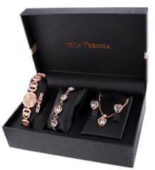 Vera Verona dámské hodinky se sadou šperků MWF16-205