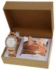 Gino Milano dámska sada hodiniek a 6 náramkov MWF14-025C