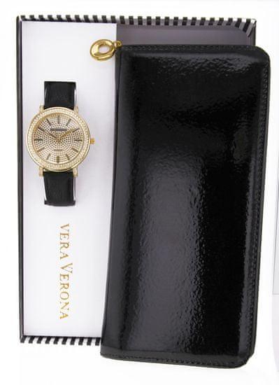 Vera Verona dámska sada hodiniek s peňaženkou MWF16-071B