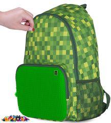 Pixie Crew Kreativní batoh Minecraft zelená kostka