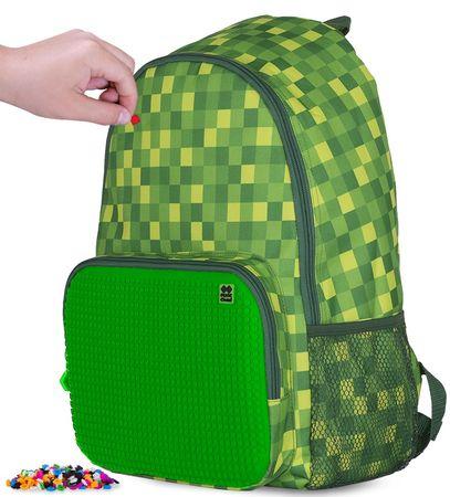Pixie Crew ustvarjalni nahrbtnik Minecraft, zelene kocke