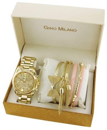 Gino Milano dámská sada hodinek a 6 náramků MWF14-028A