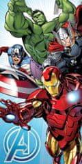 Jerry Fabrics ručnik Avengers, svijetlo plavi
