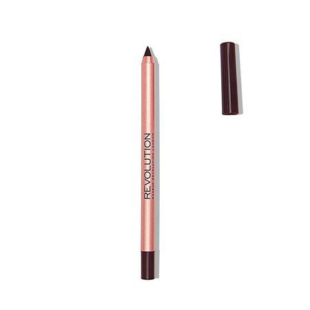 Makeup Revolution Wodoodporny ołówek do (Renaissance Lipliner) 1 g (cień Lifelong)