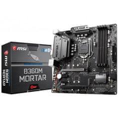MSI matična ploča B360M MORTAR, S1151, VGA/USB3.1, mATX